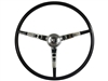 1965 - 1966 Ford Mustang Black Steering Wheel Kit