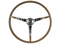 Auto Pro USA , Volante , Ford , Mustang , 1965 , 1966 , Steering Wheel , full kit , horn ring , contact plate , palomino , red, blue , ivy gold , parchment , aqua , white , black , OE , brand new , reproduction ,