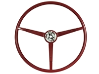 1965 Ford Reproduction Red Steering Wheel