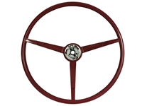 1966 Ford Mustang Red Steering Wheel