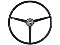 1967 Ford Mustang Reproduction Black Steering Wheel