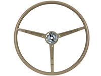 1967 Ford Mustang Parchment Steering Wheel