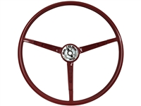1967 Ford Mustang Red Steering Wheel