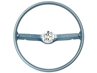 1968 1969 Ford Mustang Steering Wheel OE Blue