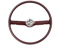1968 1969 Ford Mustang Steering Wheel OE Red