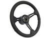 Auto Pro USA , Volante , Ford , Falcon , Steering , Wheel , Auto Pro USA , Black , Sport , reproduction , Kit , 6 bolt , deluxe , suede , 1965 , 1066 , 1967 , 1968 , 1969 , 1970 ,