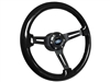 VSW S6 Sport Black Wood Steering Wheel Ford Kit
