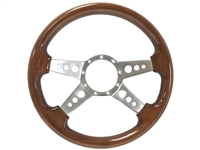 S9 Premium Wood, Quad Spoke Center with Holes