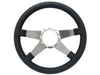 S9 Premium Leather, Quad Spoke Center