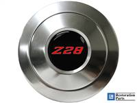 S9 Premium Horn Button with Red Camaro Z28 Emblem