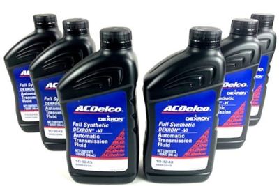 AC Delco Dexron VI Full Synthetic Automatic Transmission Fluid