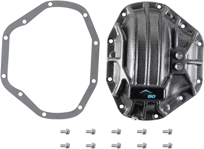 Dodge GM Ford Spicer Dana 80 Rear Nodular Iron Differential Cover, 10023537