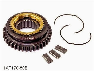 Jeep T176 1-2 Synchro Assembly, OMX-1888414, 1AT170-80B