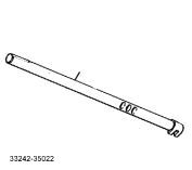AX5 Shift Rail, 1-2 Bolt Type, 33242-35022 - Jeep Transmission Parts