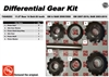 GM 11.5 AAM Spider Gear Kit, 74046293