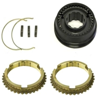 T10 1-2 Synchro Assembly w/ Rings Super T10, AT10P-80 - Chevy Parts