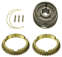T10 3-4 Synchro Assembly w/ Rings Super T10, AT16-2.5 - Chevy Parts