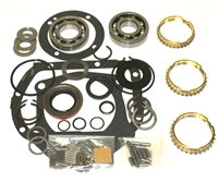 Saginaw 3 speed Bearing Kit with Gaskets and Seals, with Synchro Rings, BK115AWS