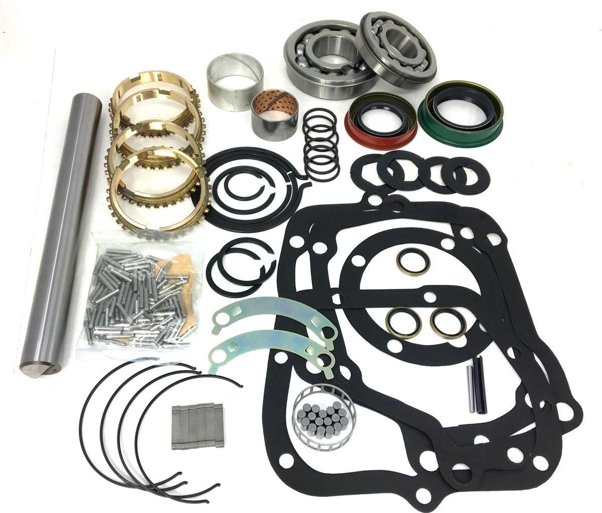 Muncie M20 M21 M22 Transmission Bushing Seal /& Gasket Kit 27 Spline