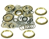 Borg Warner Super T10 4 Speed Bearing Kit HD Kit with Synchro Rings, BK118HDWS