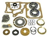 International T90 3 Speed Bearing Kit with Synchro Rings, BK119IWS