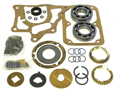 AMC  Jeep T90 3 Speed Bearing Kit with Synchro Rings, BK119WS