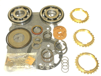 T15 International 3 Speed Bearing Kit with Synchro Rings, BK121IWS | Allstate Gear