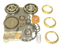 T15 Jeep Bearing Kit with Seals and Gaskets, with Synchro Rings, BK121WS