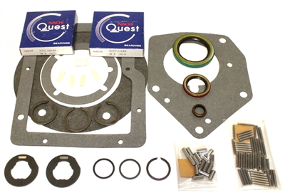 Jeep SR4 4 Speed Bearing Kit w/ Seals, BK124J - Transmission Parts | Allstate Gear