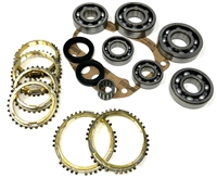 FS5W71E 2wd Hardbody 5 Speed Bearing Kit with Synchro Rings, BK133DWS