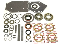 Ford Top loader HEH RUG 4 Speed Bearing Kit with Synchro Rings Max Load Bearings, BK135HDWS