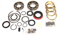 GM T4 4 Speed 1982-1987 Bearing Kit with Synchro Rings, BK148WS