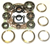 D50 2.0L 2wd 5 Speed 82-89 KM132 Bearing Kit with Synchronizer Rings, BK150WS