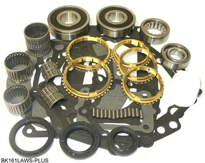 AX5 Bearing Kit With Synchro Rings, BK161LAWS-PLUS | Allstate Gear