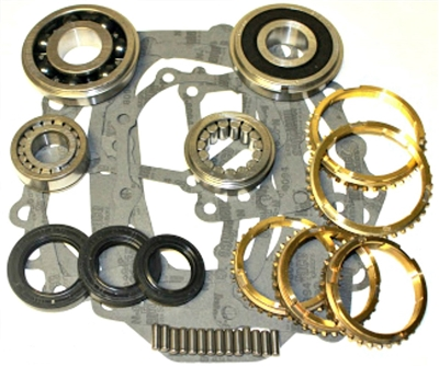 Toyota G40 G52 Bearing Kit with Synchro Rings, BK161WS