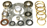 Toyota W58 W59 Bearing Kit with Synchro Rings, BK162BWS