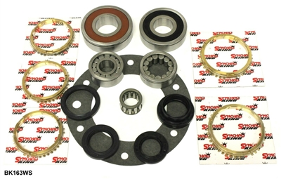 R151 Bearing Kit w/ Synchro Rings, BK163WS - Toyota Transmission Parts | Allstate Gear