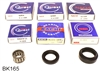 Suzuki Samurai 5 Speed Transmission Bearing Kit with Seals, BK165