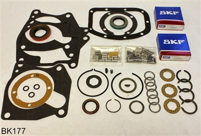 Borg Warner T10 4 Speed Bearing Kit Iron Case AMC, BK177