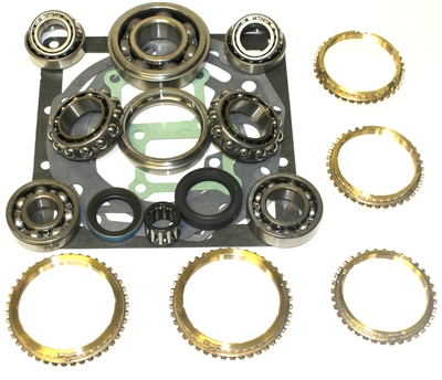 D50 2.4L 2wd & 4wd 5 Speed Bearing Kit with Seals  & Synchronizer Rings, BK189WS | Allstate Gear