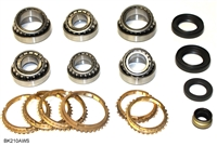CAP5T M5TX M5TXA TR5A Transmission Bearing Kit with Synchro's, BK210AWS