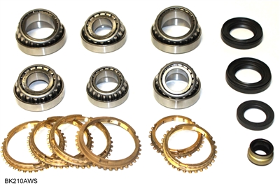 CAP5T M5TX M5TXA TR5A Transmission Bearing Kit with Synchro's, BK210AWS | Allstate Gear
