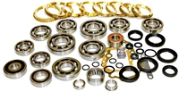 MSG-5F Isuzu Honda 5 Speed Transmission Bearing Kit with Synchro Rings, BK220BWS