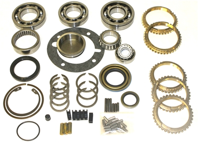 NP535 Bearing Kit with Seals and Synchro Rings, BK233WS | Allstate Gear