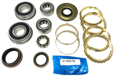 Jeep NV3550 Transmission Rebuild Kit with Synchro Rings, BK235FWS