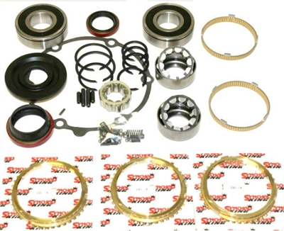 Jeep NV3550 5 Speed Bearing Kit with Synchro Rings BK235GWS | Allstate Gear