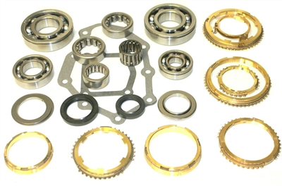 FS5R30A 5 Speed Bearing Kit with Synchro Rings, BK240CWS