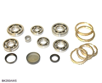 VIT5-B SIDE-A VIT5 5 Speed Transmission Bearing Kit with Synchro Rings, BK293AWS | Allstate Gear