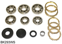 VIT5-A 5 Speed Transmission Bearing Kit with Synchro Rings, BK293WS