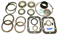 NV4500 5 Speed Bearing Kit with gaskets & seals, with 6 Synchro Rings, BK308AWS